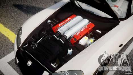 Dodge Viper SRT-10 ACR 2009 v2.0 [EPM] для GTA 4 вид сзади