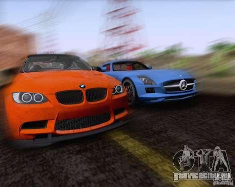 BMW M3 GT-S Fixed Edition для GTA San Andreas вид изнутри