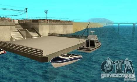 GTAIV Tropic для GTA San Andreas вид снизу