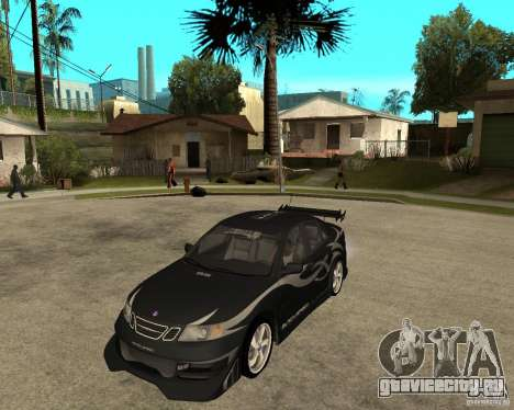 Saab 9-3 from GM Rally Вариант 2 для GTA San Andreas