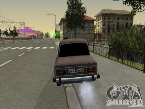 ВАЗ 2106 Такси для GTA San Andreas вид изнутри