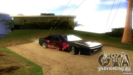 Toyota AE86 Coupe - Final для GTA San Andreas вид справа