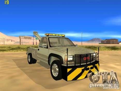GMC Sierra Tow Truck для GTA San Andreas