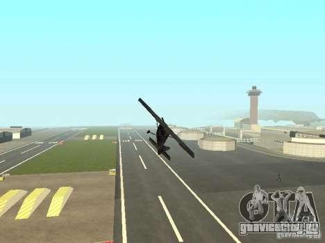 Новый самолёт Dodo для GTA San Andreas вид сверху