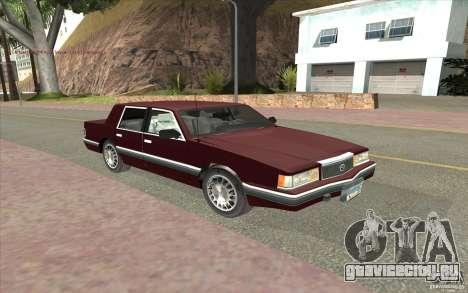 Chrysler Dynasty для GTA San Andreas вид слева