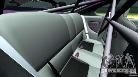 Toyota Supra Top Secret для GTA 4 вид сбоку