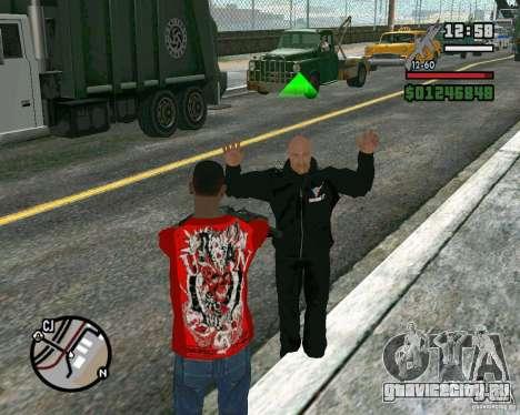Dwayne The Rock Johnson для GTA San Andreas