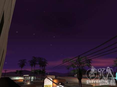 Timecyc - Purple Night v2.1 для GTA San Andreas девятый скриншот