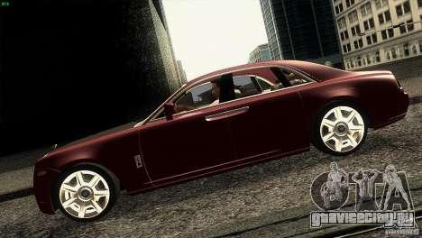 Rolls-Royce Ghost 2010 V1.0 для GTA San Andreas вид слева