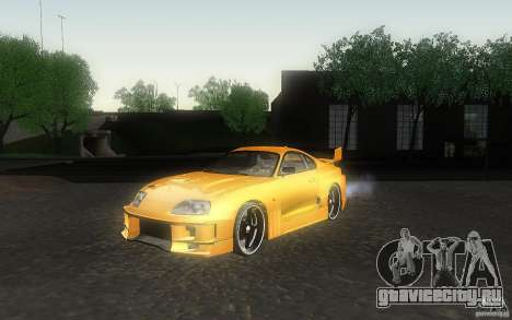 Toyota Supra Chargespeed для GTA San Andreas