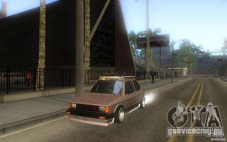 Volkswagen Golf GTI rabbit euro style для GTA San Andreas вид сбоку