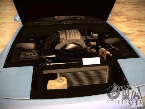 Mazda RX-7 FC3S для GTA San Andreas вид сверху