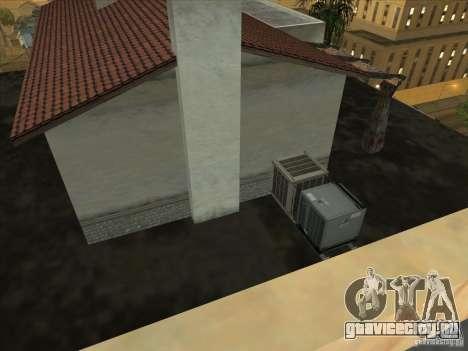 Карта для паркура и площадка bmx для GTA San Andreas