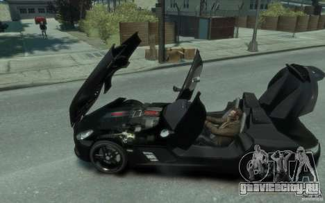 Mercedes Benz SLR McLaren Stirling Moss 2010 EPM для GTA 4 вид слева