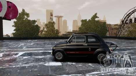 Fiat 500 695 Abarth для GTA 4 вид слева