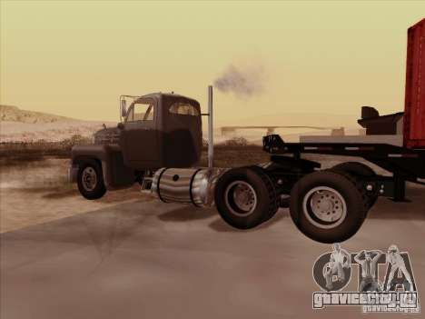 Mack B 61 для GTA San Andreas вид справа