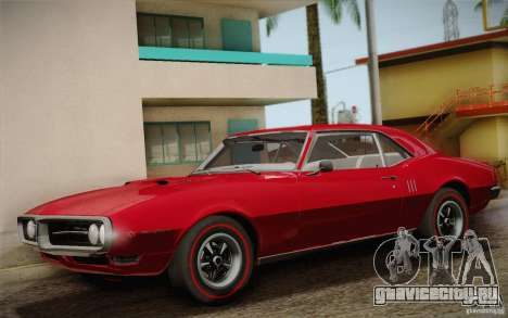 Pontiac Firebird 400 (2337) 1968 для GTA San Andreas салон