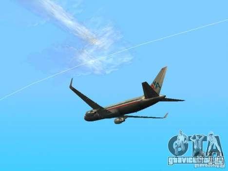 Boeing 767-300 American Airlines для GTA San Andreas вид справа