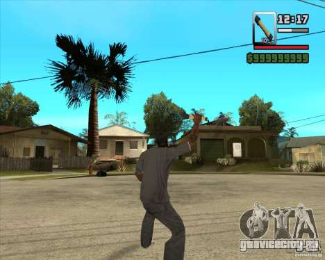 Граната М-24 для GTA San Andreas третий скриншот