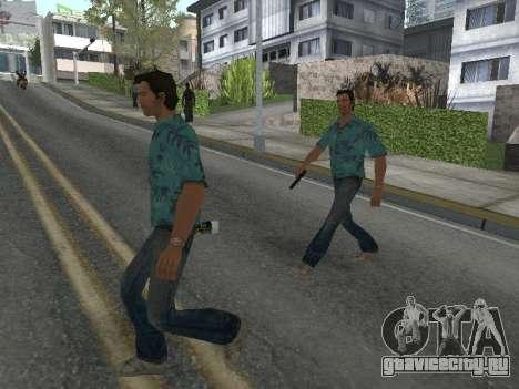 Новые скины Grove Street для GTA San Andreas