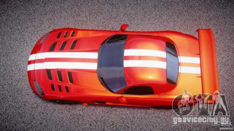 Dodge Viper RT 10 Need for Speed:Shift Tuning для GTA 4 вид справа