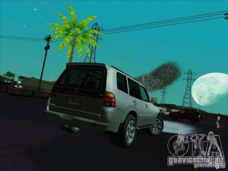 Mitsubishi Montero для GTA San Andreas вид сзади слева
