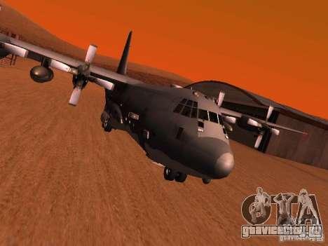 AC-130 Spooky II для GTA San Andreas