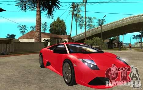 Lamborghin Murcielago LP640 v2 для GTA San Andreas вид сзади