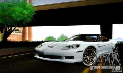 Chevrolet Corvette ZR-1 для GTA San Andreas вид слева