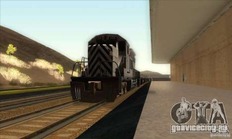 Russian Rail v2.0 для GTA San Andreas