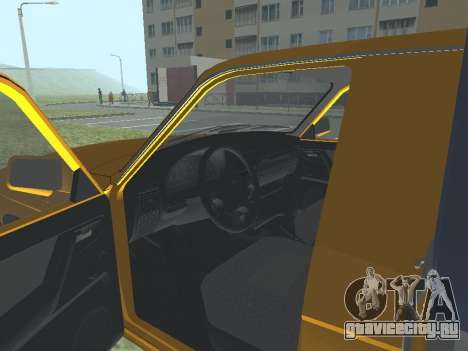 ГАЗ 17310 Трофим для GTA San Andreas вид сзади