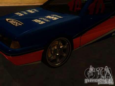 Previon FNF3 для GTA San Andreas вид слева