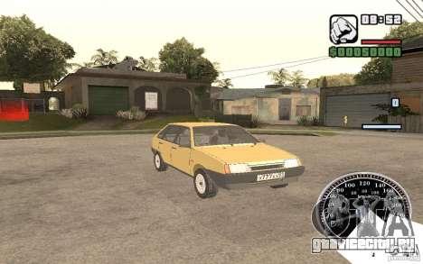 ВАЗ 21093i для GTA San Andreas вид сбоку