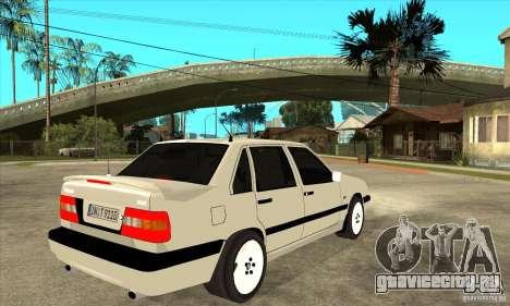 Volvo 850 Turbo для GTA San Andreas вид справа