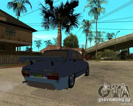 Dacia 1310 tuning для GTA San Andreas вид сзади слева