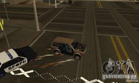 ШИПЫ на дороге для GTA San Andreas второй скриншот