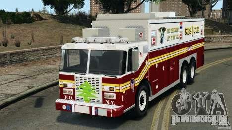 FDNY Rescue 1 [ELS] для GTA 4