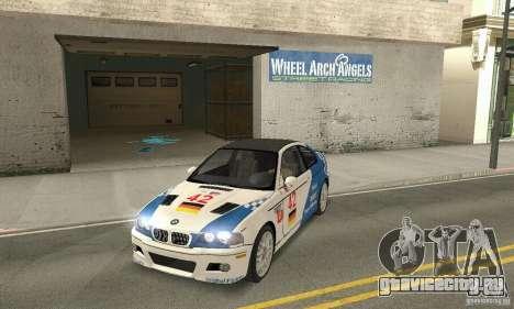 BMW M3 Tunable для GTA San Andreas вид сверху