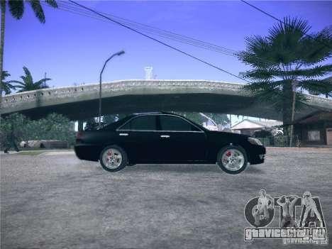 Toyota Mark II Grande для GTA San Andreas вид слева