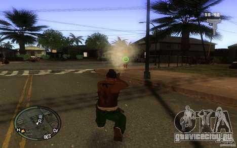 Прицел v1 для GTA San Andreas второй скриншот