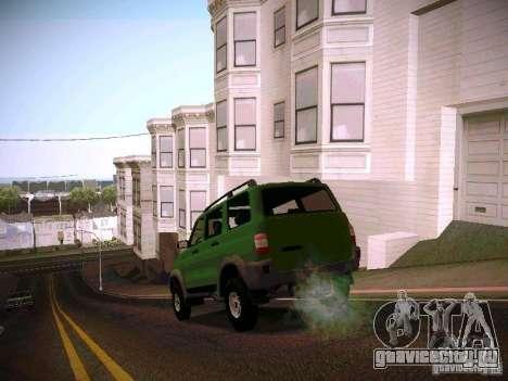 УАЗ 3160 Патриот для GTA San Andreas вид сзади слева