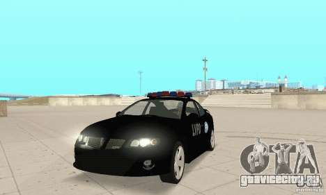 Pontiac GTO 2004 Cop для GTA San Andreas