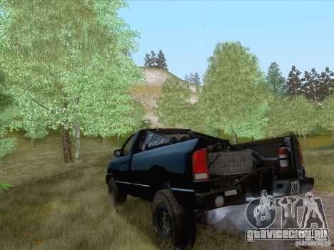Dodge Ram Trophy Truck для GTA San Andreas вид слева