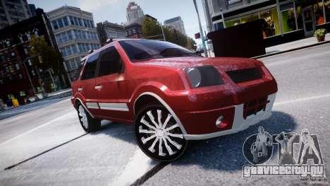 Ford EcoSport для GTA 4 вид сбоку