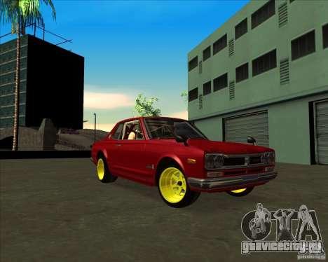 Nissan Skyline GTR 2000 для GTA San Andreas вид справа