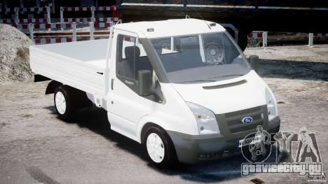 Ford Transit Pickup 2008 для GTA 4