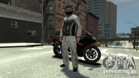BIKER BOYZ Clothes and HELMET Version 1.1 для GTA 4 второй скриншот