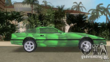 Reptilien banshee для GTA Vice City вид слева