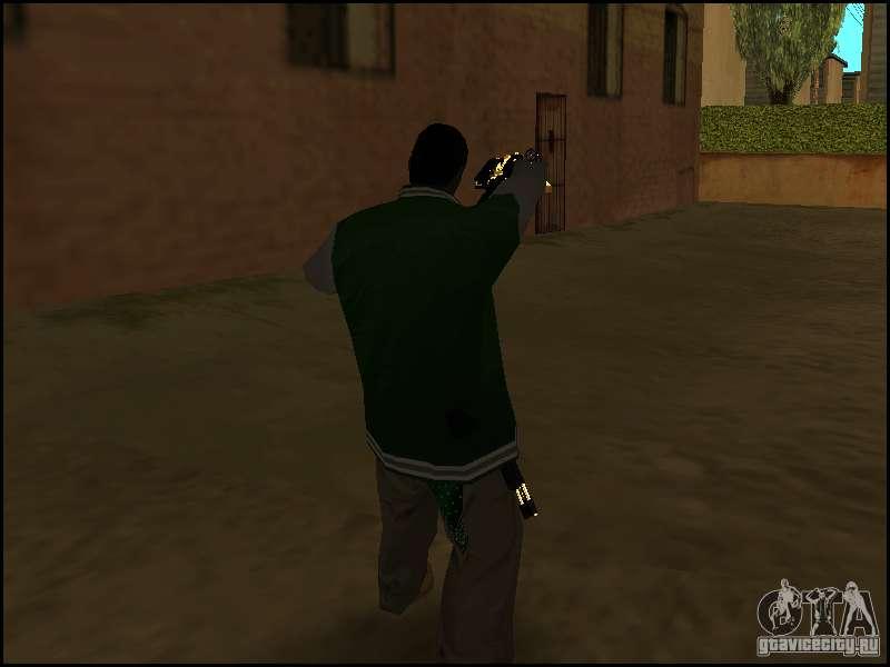скачать мод оружия за спиной для Gta San Andreas - фото 8