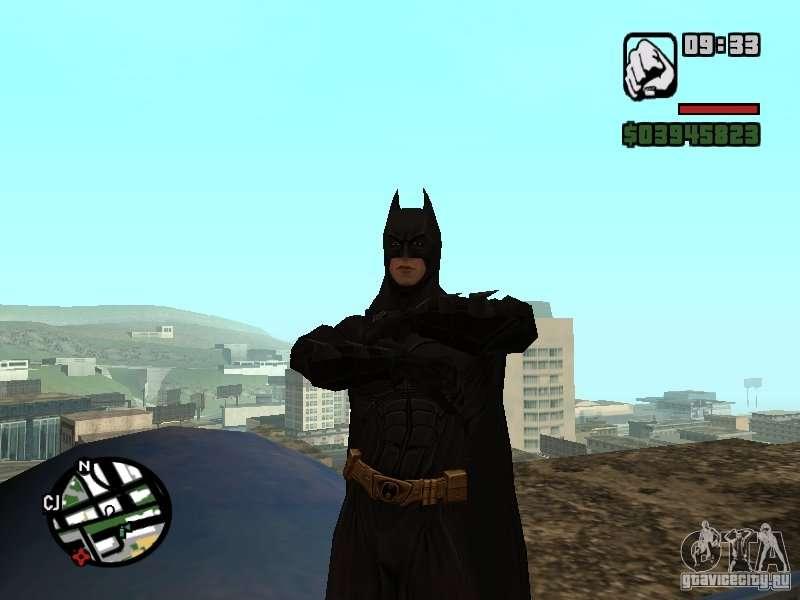 скачать мод на гта сан на бэтмена - фото 5